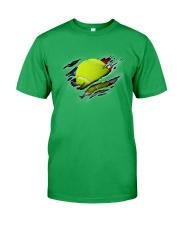 Tennis Inside Flag Classic T-Shirt front