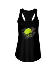 Tennis Inside Flag Ladies Flowy Tank thumbnail