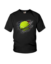 Tennis Inside Flag Youth T-Shirt thumbnail