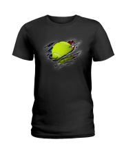 Tennis Inside Flag Ladies T-Shirt thumbnail