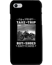 Motorcycle - Life Is Short - Take The Trip Phone Case thumbnail