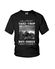 Motorcycle - Life Is Short - Take The Trip Youth T-Shirt thumbnail