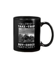 Motorcycle - Life Is Short - Take The Trip Mug thumbnail