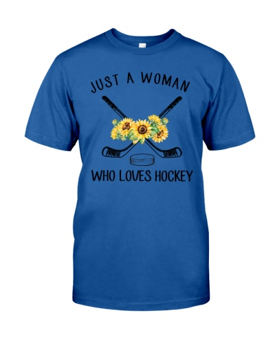 Hockey Just A Woman