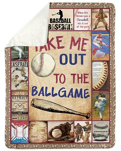 Baseball Take Me Out To The Ballgame