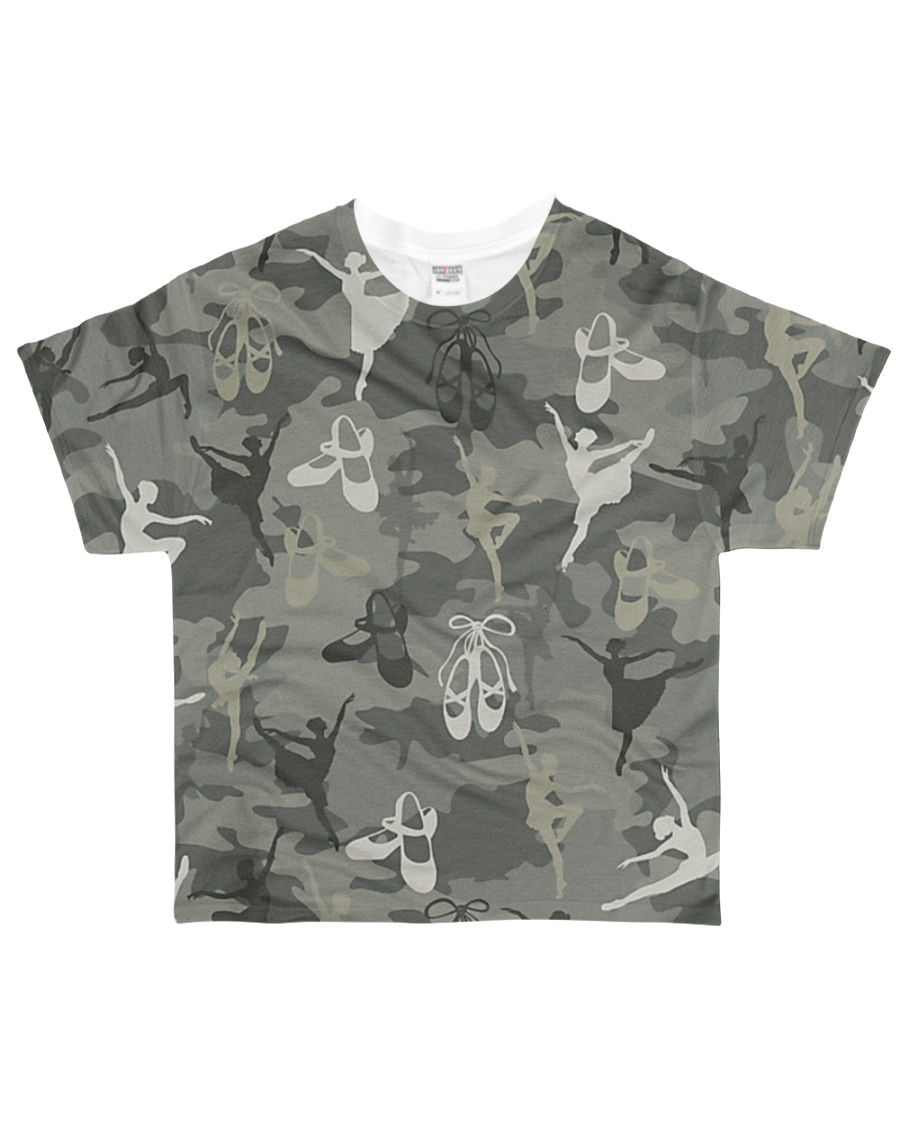 Dancing Camouflage All-over T-Shirt