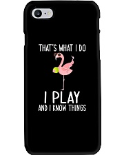 Tennis I Play And I Know Things Phone Case thumbnail