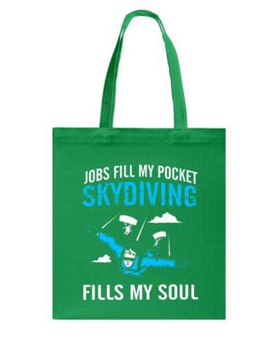 SKYDIVING FILLS MY SOUL