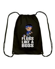 Volleyball Floss Like A Boss Drawstring Bag thumbnail
