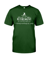 Surfing Retirement Classic T-Shirt front