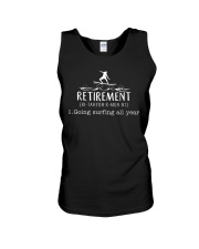 Surfing Retirement Unisex Tank thumbnail