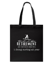Surfing Retirement Tote Bag thumbnail