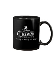 Surfing Retirement Mug thumbnail