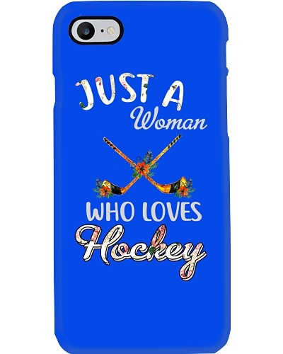 Just A Woman Who Loves Hockey