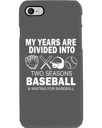 My Years Are Divided Into Baseball