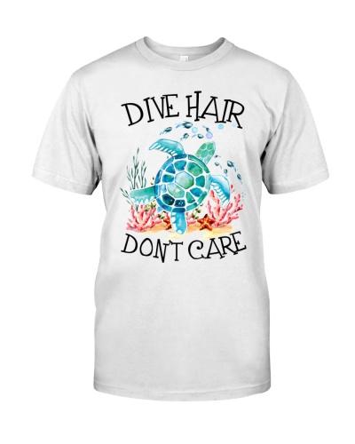 Scuba Diving Dive Hair Don't Care