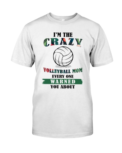 Volleyball Mom Crazy
