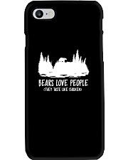 Hiking-Bears love people Phone Case thumbnail