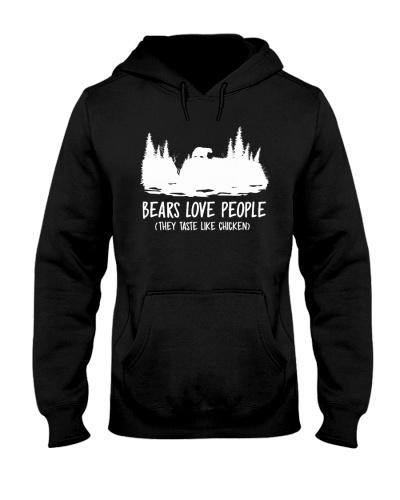 Hiking-Bears love people