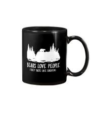 Hiking-Bears love people Mug thumbnail