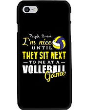 People Think I Am A Volleyball  Phone Case thumbnail