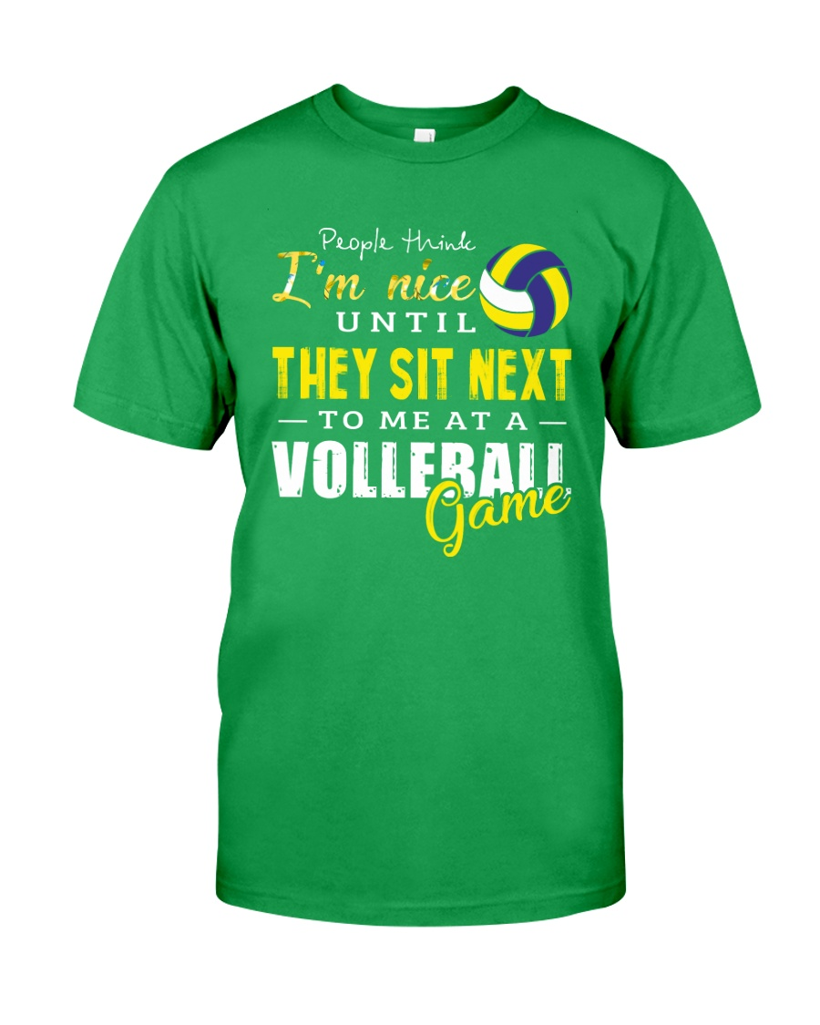People Think I Am A Volleyball  Classic T-Shirt showcase