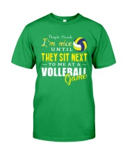 People Think I Am A Volleyball  Classic T-Shirt front