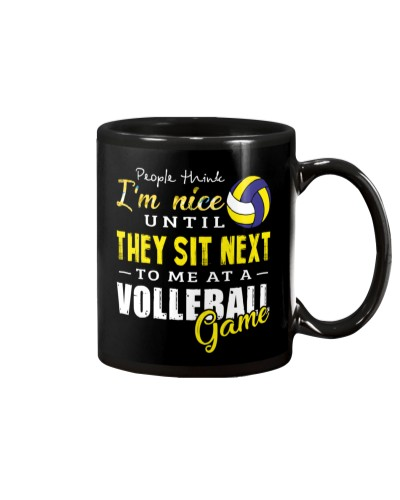 People Think I Am A Volleyball