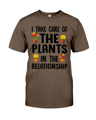 I Take Care Of The Plants