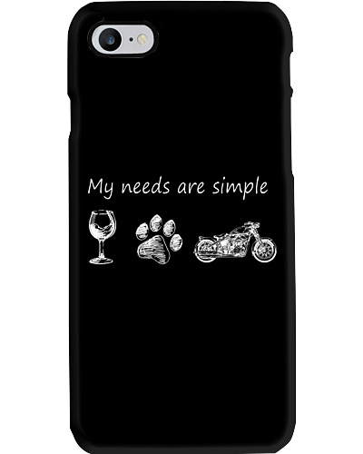 My Needs Are Simple Motorcycle