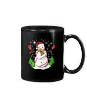 Baseball Christmas Snowman Mug thumbnail