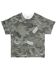 Golf Camouflage All-over T-Shirt front