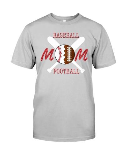 Baseball Mom Football