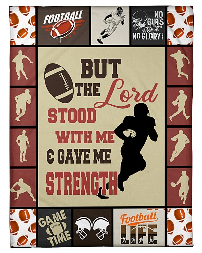 Football Funny But The Lord Gave Me Graphic Design