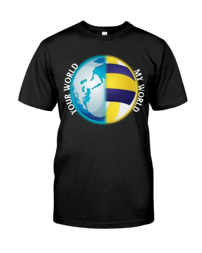 Volleyball- My and your world