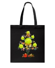 Tennis Tree Xmas Tote Bag thumbnail