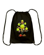 Tennis Tree Xmas Drawstring Bag thumbnail