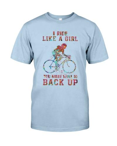 Cycling I Ride Like A Girl