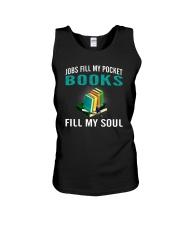 JOBS FILL MY POCKET BOOK FILLS MY SOUL Unisex Tank thumbnail