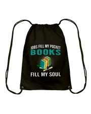 JOBS FILL MY POCKET BOOK FILLS MY SOUL Drawstring Bag thumbnail