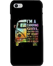 I'm A Camping Girl Phone Case thumbnail