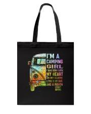 I'm A Camping Girl Tote Bag thumbnail