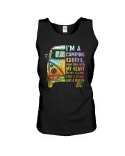 I'm A Camping Girl Unisex Tank thumbnail