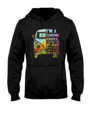 I'm A Camping Girl Hooded Sweatshirt front