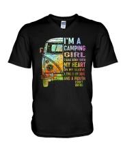 I'm A Camping Girl V-Neck T-Shirt thumbnail