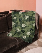 "Baseball Camou Small Fleece Blanket - 30"" x 40"" aos-coral-fleece-blanket-30x40-lifestyle-front-05"