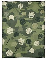 "Baseball Camou Small Fleece Blanket - 30"" x 40"" front"