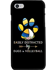 Easily Distracted By Dogs And Volleyball  Phone Case thumbnail