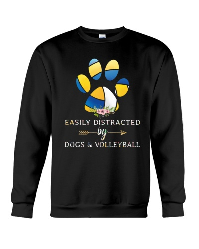 Easily Distracted By Dogs And Volleyball