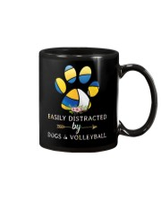 Easily Distracted By Dogs And Volleyball  Mug thumbnail